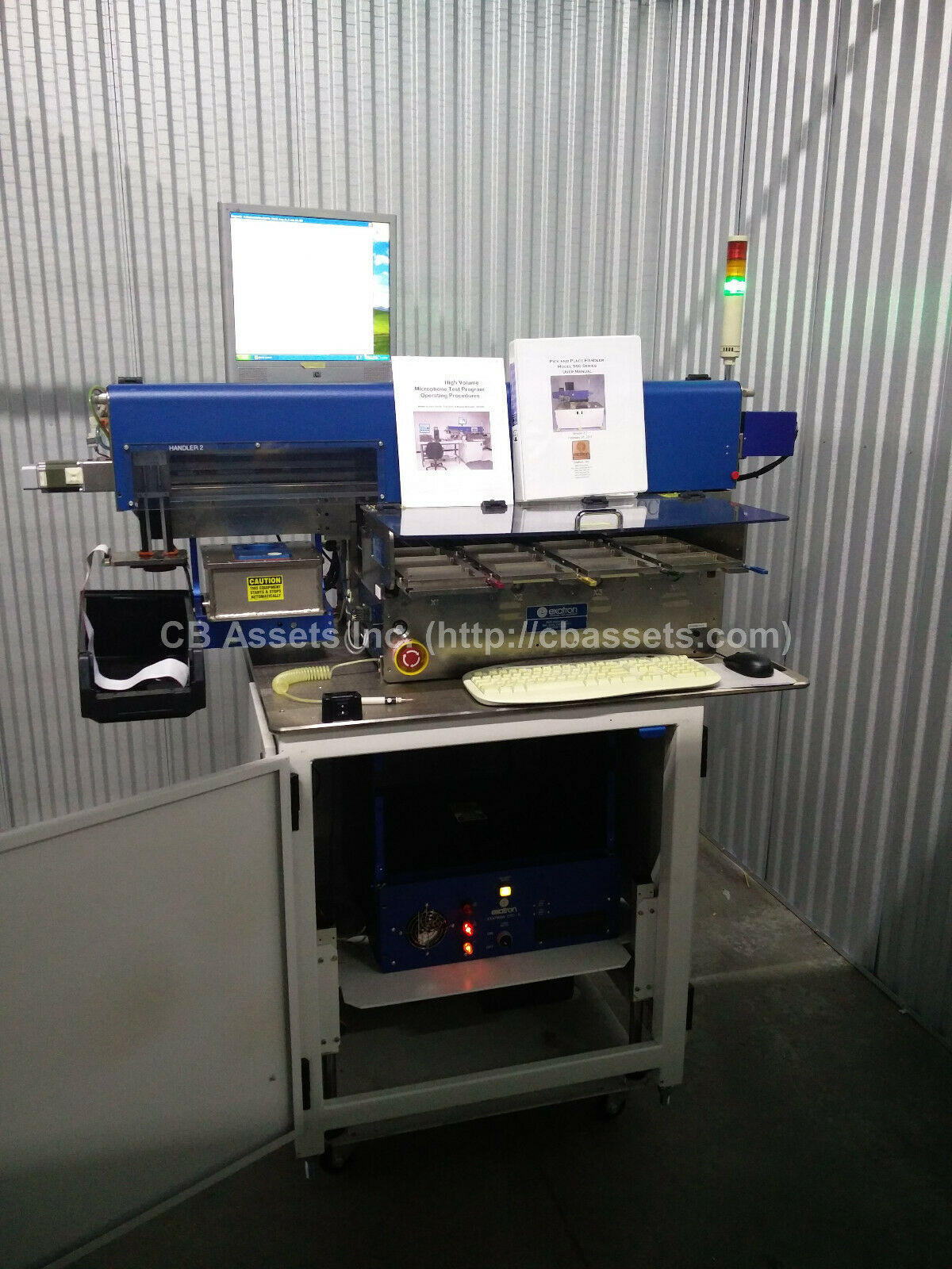 Exatron 904 SMT Pick and Place Handler